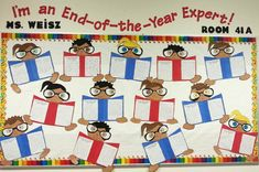 I'm an end-of-the-year expert!! Students get excited to share what they have learned this year. Fun end of school writing activity and craft :)