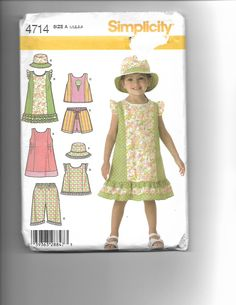 Simplicity 4714 by CraftingMoose on Etsy