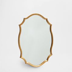 GOLDEN PROFILE MIRROR - Mirrors - Decor and pillows - Home Collection - SALE | Zara Home United States
