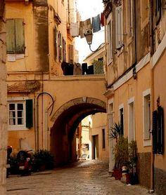 Old Town, Corfu Island, Greece