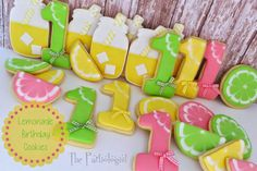 The Partiologist: Lemonade Stand Cookies!