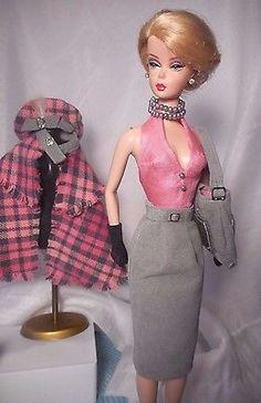 Barbie Silkstone Fashion Royalty Repro Vintage Fashion Handmade OOAK Mary