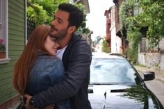 "The photo ""Kiralik Ask - Episode has been viewed 145 times. Elcin Sangu, I Love You, My Love, Turkish Actors, Barista, Good Vibes, Couple Goals, Romance, Photoshop"