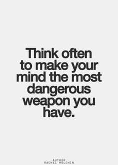 Think about it and leave it at that.don't over think. Inspirational Quotes Pictures, Great Quotes, Quotes To Live By, Awesome Quotes, The Words, Words Quotes, Sayings, Think, Quotable Quotes