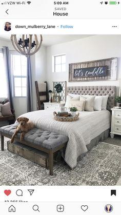 Read on streamlined cozy bedroom decor Farmhouse Bedroom Decor, Cozy Bedroom, Dream Bedroom, Bedroom Ideas, Guest Bedroom Decor, Guest Bedrooms, My New Room, Beautiful Bedrooms, Sweet Home