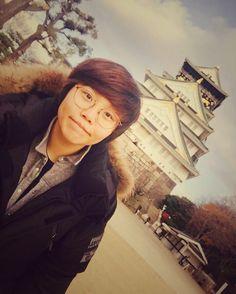 """ Osaka castle #데일리 #일상 #데일리룩 #셀스타그램 #얼스타그램 #여행 #일본 #오사카 #오사카성 #선팔 #맞팔 #소통 #daily #dailylook #selfie #trip #tour #Japan #osaka #osakacastle #photooftheday"""