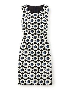 Harriet Dress WH697 Day at Boden I like both the shape/style of this dress and the fun print