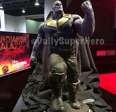 The first close up look at Thanos in the D-23 expo.