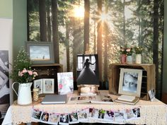 My stand idea for a vintage wedding fayre.