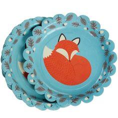 papieren bordjes rusty the fox dotcomgiftshop | ilovespeelgoed.nl