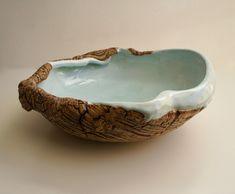 "Maggie Williams - Sea-Bowl ""Rock-pool"" High-fired Stoneware - 420mm dia 2018 Rock Pools, Serving Bowls, Stoneware, Ceramics, Sea, Tableware, Bowls, Dinnerware, Serving Dishes"