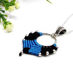 Nina nyaklánc – kék | DombiAnita Ékszerek Techno, Crochet Earrings, Jewelry, Fashion, Moda, Jewlery, Bijoux, Fashion Styles, Schmuck