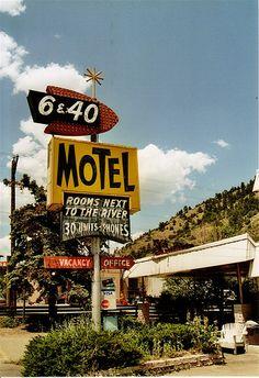 640 motel, Idaho Springs, COL by horstschrader, via Flickr