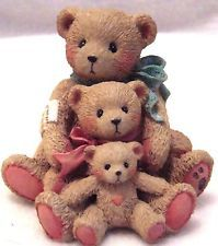 Cherished Teddies Bear Theadore,Samantha & Tyler- Friends Come in All Sizes