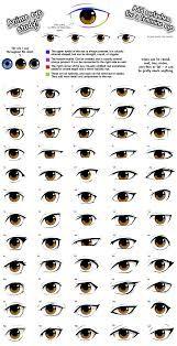 cartoon eyes basic shapes - Google Search
