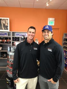 Eric Decker shows his support for Complete Nutrition