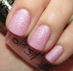 OPI Pussy Galore - Bond Girls Liquid Sand Nail Lacquer