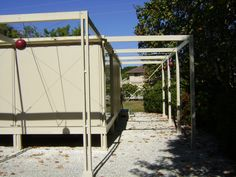 The Walter W. and Elaine Walker Guest House. 1952. Paul Rudolph with Ralph Twitchell. Sanibel Island, Florida.