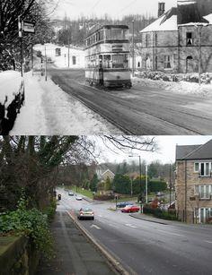 Sheffield History - Then and Now Photo Thread Old Pictures, Old Photos, Then And Now Photos, South Yorkshire, Nice Photos, Sheffield, Public Transport, Pinterest Marketing, Norfolk