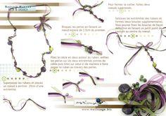 organza ribbon necklace