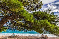 Last days in October on the beach of Brela