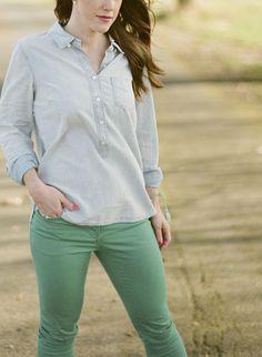 Want green pants