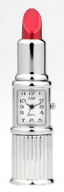 Lipstick  Miniature Clock