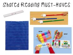 Mrs. Richardson's Class: A Glimpse at Shared Reading and a Facebook FREEBIE