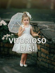 Girls Dresses, Flower Girl Dresses, Wedding Dresses, Fashion, Good Morning Wishes, Good Afternoon, Nighty Night, Frases, Dresses Of Girls