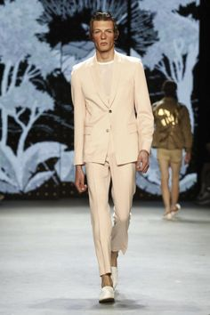 Topman Fashion Show Menswear Collection Spring Summer 2017 in London