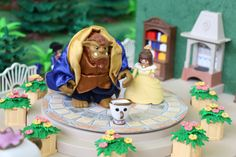 Beauty and the Beast-LuxPlaymoDays 2016 Lego Tv, Dollhouse Ideas, Beauty And The Beast, Craft Ideas, Crafty, My Favorite Things, Disney, Around The Worlds, Dioramas