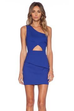 faa28ec6e1bf NBD x Naven Think About It Dress in Cobalt Blue