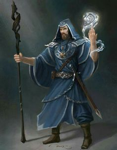 Elemental water mage