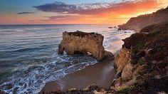el matador beach//malibu ca