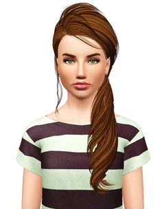Skysims 226 hairstyle retextured by Pocket for Sims 3 - Sims Hairs - http://simshairs.com/skysims-226-hairstyle-retextured-by-pocket/