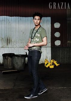 Kim Soo Hyun - Grazia Magazine August Issue '13