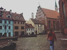 We have nothing to lose and a world to see. / Riga, Latvia