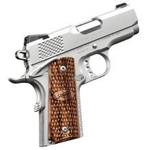 Kimber 1911 Stainless Ultra Raptor II - A compact and lightweight 1911 ideal for concealed carry, plus show-off appearance.