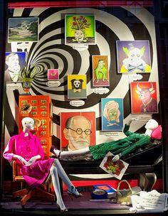 Window Displays- Hope the Christmas ones start! - Bergdorf Goodman