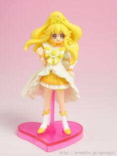 Princess Peace - Smile Precure! - バンダイ食玩 スマイルプリキュア! プリキュアプリンセスフォームキューティーフィギュア レビュー