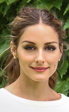 Olivia Palermo, Bridal Makeup, Closeup, Makeup, Wedding Makeup, Celebrity Makeup, Soft Smokey Eye Makeup, Matte Peach Blush