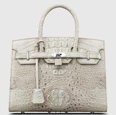 68d0c80f88bd White Himalayan Crocodile Bag - Jane Birkin Style  Unbranded  JaneBirkin Jane  Birkin Style