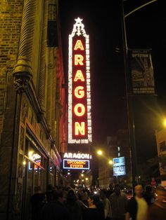 Aragon Ballroom in Chicago, IL. One of the best venues for live music in the city!