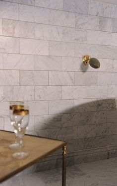 Mått? Tadelakt, Carrara, Tile Floor, Wall Lights, Flooring, Interior Design, Bathroom, Home Decor, Mosaics