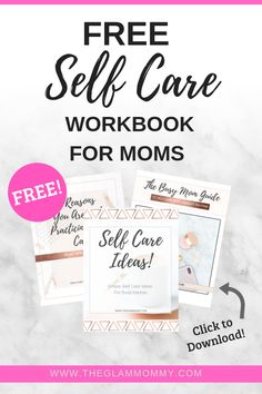 Self care for busy moms.  Easy tips for a self care routine that anyone can do. #selfcareideas