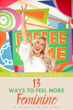 Today I'm sharing 13 ways you can feel more feminine in under 10 minutes or less. I promise most of these take only seconds to do and can help give you that extra touch of glam you need for the day! (and if we are being perfectly honest, I've totally done each of these!) #styleblogger #femininefashion #styletips #fashiontips #fashiontrends