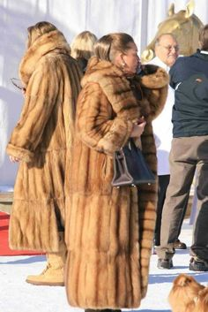 Loving it in our furs