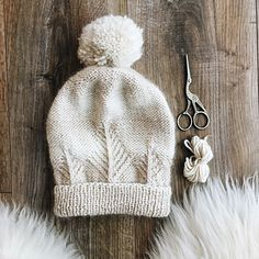 Treehouse hat, in worsted weight