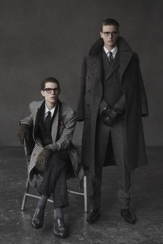 Men at Work: Matt McGone, Marc Faiella and Alex Michels by Takay for WWD...stunning men's style and fashion