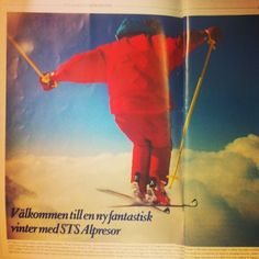Upp i det blå! #stsalpresor #tbt #throwbackthursday #skiing #clouds #90s